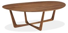 Dunn Cocktail Table - Cocktail Tables - Living - Room & Board table to go with chaise and dark grey sofa