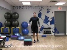 20-minutes of Quickness & Power for Hockey - YouTube