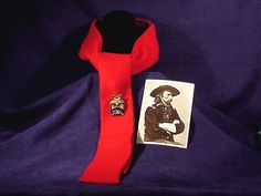 When George A. Custer was promoted to BG, he designed his own uniform, which included a red cravat and pin of his own design. When he assumed command of the Michigan Brigade, the troopers soon began wearing a red tie as a symbol they belonged to the best. American Civil War, American History, George Custer, George Armstrong, United States Military Academy, The Trooper, Union Army, Major General, Cravat