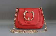 Women bag of MINI from a genuine leather. Fashion bag. Leather handbags