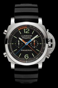 Panerai Luminor 1950 Regatta 3 Days Chrono Flyback Automatic Titanio (PAM00526) $12,000