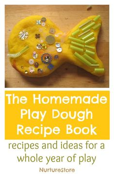 Recipes and play ideas for a whole year of play dough activities. Great ideas for sensory and imaginative play, creating small worlds, art projects, and math and literacy activities.