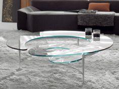 Modern glass coffee table designs