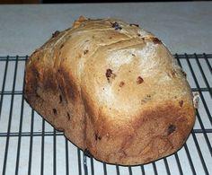 Bread Machine Applesauce Bread with Raisins (or at our house no raisins)