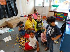 Lego fun at Mini Minors! Our day camps offer a wealth of fun activities for everyone to enjoy!
