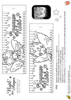 Anges De Noel Photophores De L Avent, page 9 sur 12 sur HugoLescargot.com Christmas Colors, Coloring Pages For Kids, Winter, Projects To Try, Deco, Drawings, Holiday, Recherche Google, Embroidery