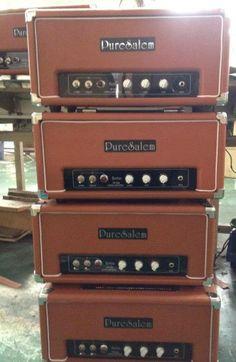 PureSalem Guitars also has amps
