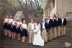 Love the men's outfits! Just ties instead of bow ties..... And navy suit for groom!!