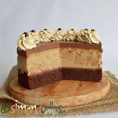 Cake Flavors, Vanilla Cake, Chocolate Cake, Carne, Bakery, Cheesecake, Sweets, Cookies, Desserts