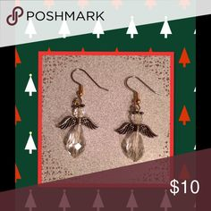 Handmade angel earrings  Great present for the holidays! Jewelry Earrings