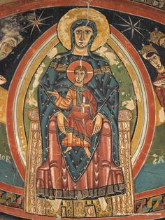 santa maria de tahull frescos | SANTA MARÍA DE TAHULL-A.Garcia Omedes