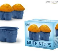 Muffin Tops Cake Moulds $19.95 We?ve seen this look before, but not quite this cute. Fill these adorable jeanstyle cupcake pants with you...