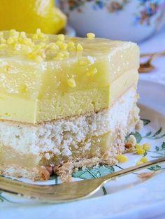 Tort cytrynowy (na zimno)