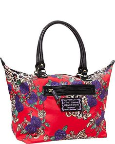 ROSEY MIX UP SATCHEL RED accessories handbags non leather satchels #handbags #clutches
