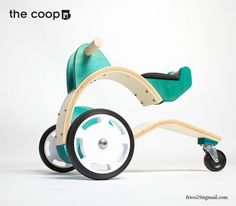 The Coop Toy Line by Federico Rios, via Behance