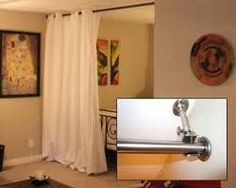 hanging room dividers on tracks - Google Search
