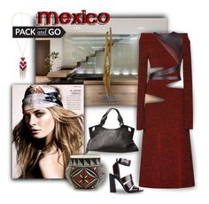"""""""Pack and Go: Mexico City"""" by ysmn-pan ❤ liked on Polyvore featuring Proenza Schouler, Lanvin, Cartier, contest, mexico and Packandgo"""