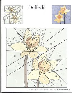 24 flower quilt blocks 27   Flickr - Photo Sharing!