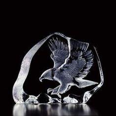 Sweden Crystal Design - Flygande örn av Mats Jonasson.