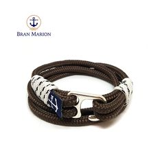 Bran Marion Laguna Nautical Bracelet sold by Bran Marion. Shop more products from Bran Marion on Storenvy, the home of independent small businesses all over the world. Surfer Bracelets, Bracelets For Men, Handmade Bracelets, Cuff Bracelets, Nautical Bracelet, Nautical Jewelry, Marine Rope, White Rope, Rope Jewelry