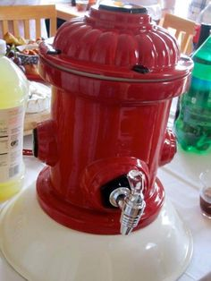 Fire Hydrant Drink Dispenser :)