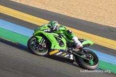 2016 Kawasaki Ninja ZX10R. Team SRC Gregory Leblanc winner SBK France Le Mans