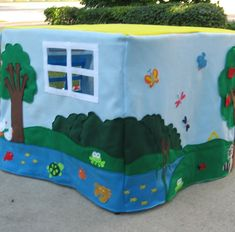 Animal Sanctuary Card Table Playhouse 2 | by My First Playhouse
