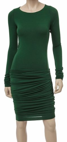 Modern Women Fashion Clothing: Modern Fashion Clothing-Maxstudio Women's Shirred And Draped Jersey Dress