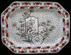 Ridgways Potteries Devonshire #10 1884