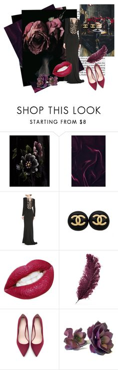 """""""Untitled #1708"""" by nybabe96 ❤ liked on Polyvore featuring Tom Ford, Zuhair Murad, Chanel, Christopher Kane and Zara"""