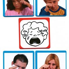 Teaching Emotions, Expressions, Playing Cards, Album, Education, Feelings, Feelings And Emotions, Face Expressions, Special Education