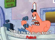 Lol I'm not a krusty krab Funniest Spongebob Moments, Spongebob Memes, Spongebob Squarepants, Funny Moments, Funniest Moments, Cartoon Memes, Best Cartoons Ever, Cool Cartoons, Spongebob Patrick