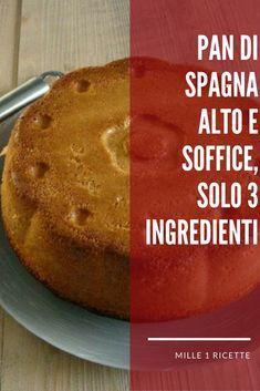 Pan di Spagna Pan di spagna alto e soffice, solo 3 ingredienti perfetto in qualsiasi occasione  #torte #pandispagna #torta