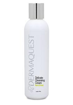 Delicate Cleansing Cream renser nænsomt sart hud. Indeholder plejende ingredienser og efterlader din hud silkebød.
