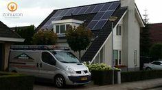 Risen Solar Technology polikristallijn zonnepanelen en SolarEdge SE4000-16a omvormer