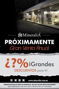 #Grandes Descuentos, #esperalos... muy pronto @MineraliAMx  #MineraliAMx