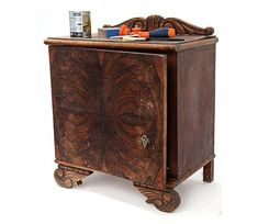 Renovar la mesilla - Mi Casa Recycled Furniture, Painted Furniture, Master Room, All Craft, Furniture Makeover, Chalk Paint, Wood Crafts, Storage Chest, Sideboard
