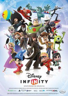 The #DisneyInfinity gang's all here! Christmas wish list