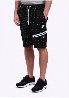 Nike Apparel Tech Fleece Dots Shorts - Black