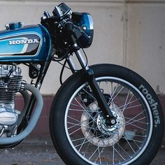 """Today's featured build on returnofthecaferacers.com - The Honda CB250GT """"factory Racer"""" by the rooshers. in #germany #motorbikeshed"""