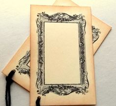 wedding placecards vintage place card escort tags by 0namesleft, $5.40