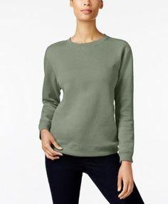 Karen Scott Sweatshirt, Created for Macy's - Purple XXL