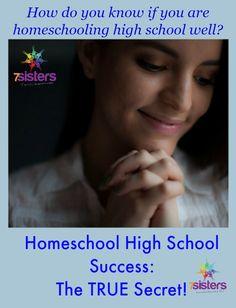 What is the true secret of homeschool high school success? How do you know if you're doing enough or teaching the right things? Here's the answer.