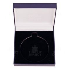 leather effect medal box
