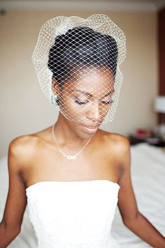 forget tradition and ditch the veil Bridal Headpieces, Bridal Hair, Bridal Beauty, Wedding Veils, Wedding Dresses, Headpiece Wedding, African American Weddings, Black Bride, Wedding Hair Pieces