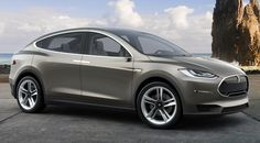 """Tesla Model X   """" Musk wrote. """"We have been producing release candidate Model X bodies in our new body shop equipped with more than 500 robots as we fine-tune and validate our production processes."""""""