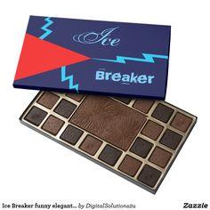 Ice Breaker funny elegant minimalist dark Assorted Chocolates