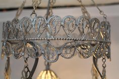 Available in gold, black, antique copper and also individual color options Turkish Lamps, Silver Filigree, Antique Copper, Chandelier, Ceiling Lights, Antiques, Frame, Gold, Black