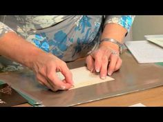 ▶ Crafting My Style with Sue Wilson - Elegant Lace edgers Canadian Toronto,Portuguese Lisbon,Classic Peony Complete petal