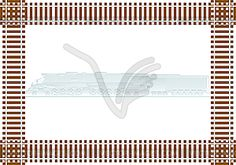 Railroad - vector clip art